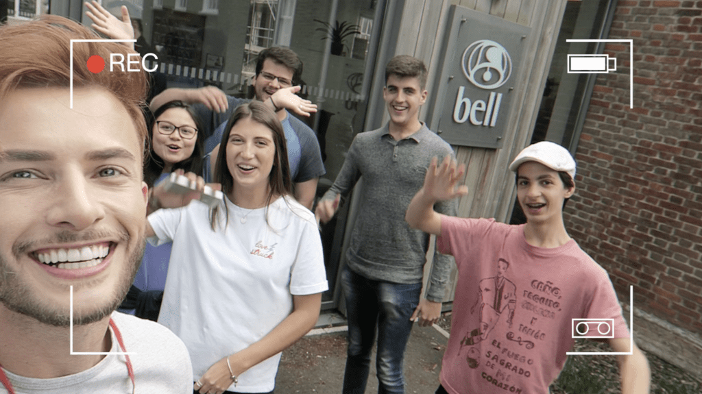 Influencer Maicon Santini visits Bell English in London and Cambridge